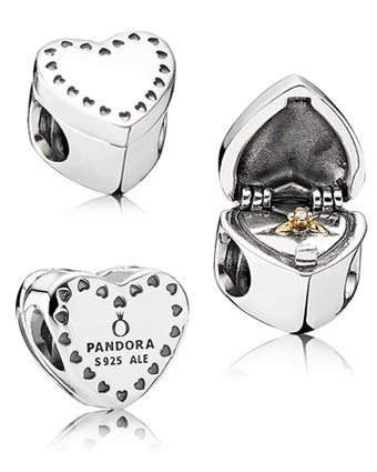 pandora gift from the heart charm