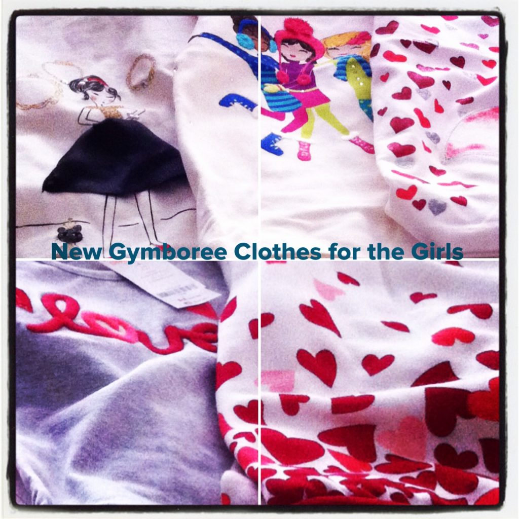 New Gymboree Clothes for the Girls