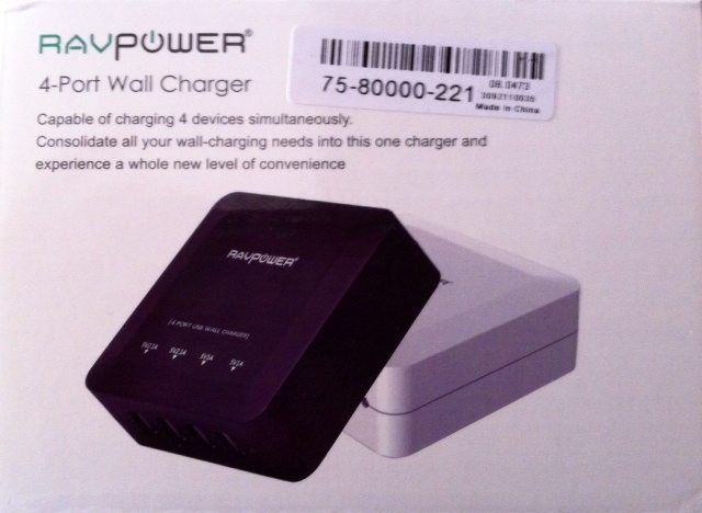 RAVPower 4-Port Wall Charger