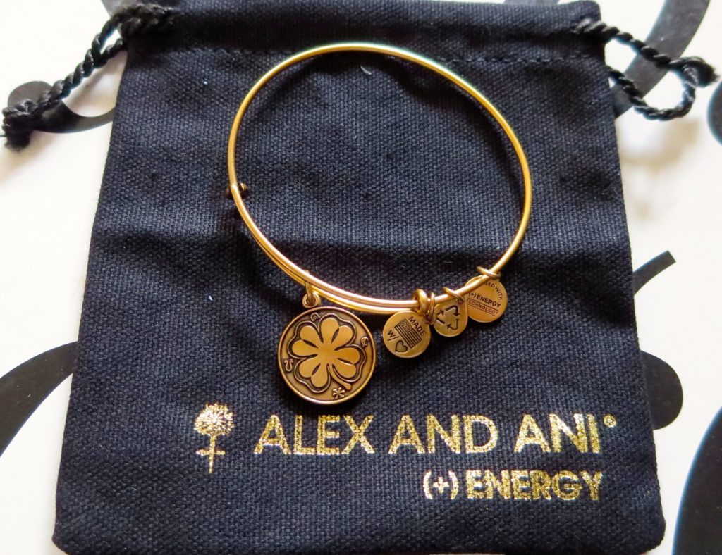Alex and Ani Four Leaf Clover Bracelet