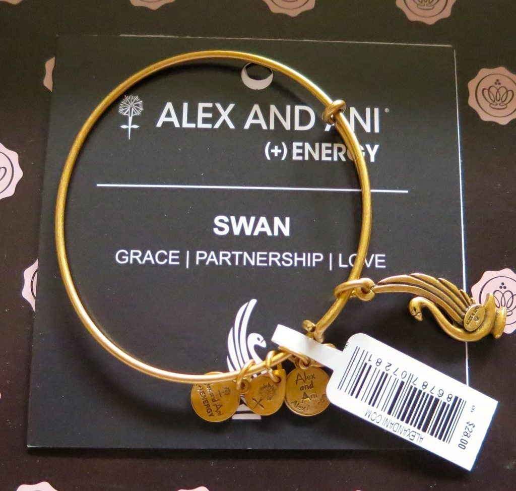 Alex and Ani Swan Bracelet