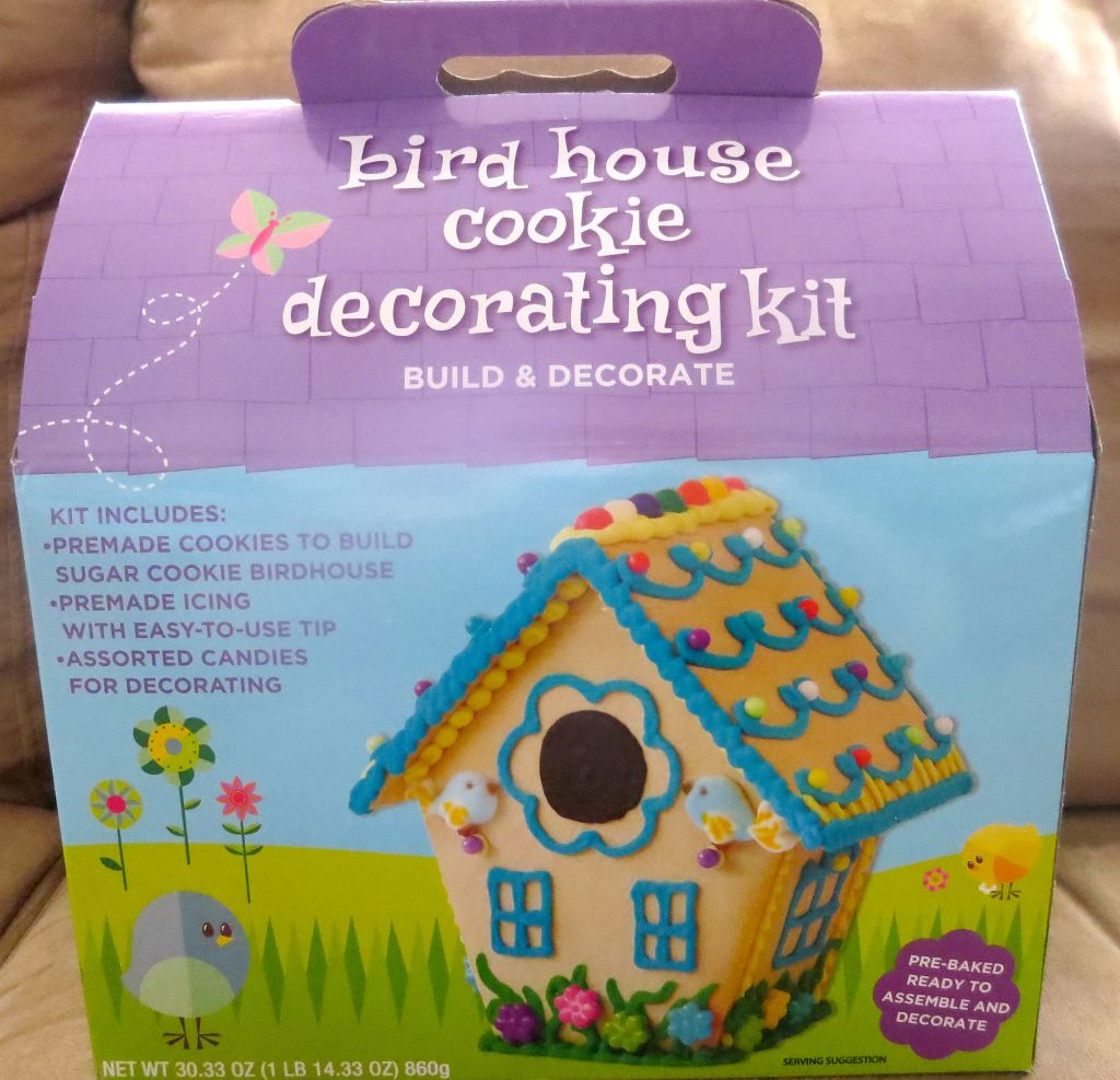 Birdhouse Cookie Decorating Kit