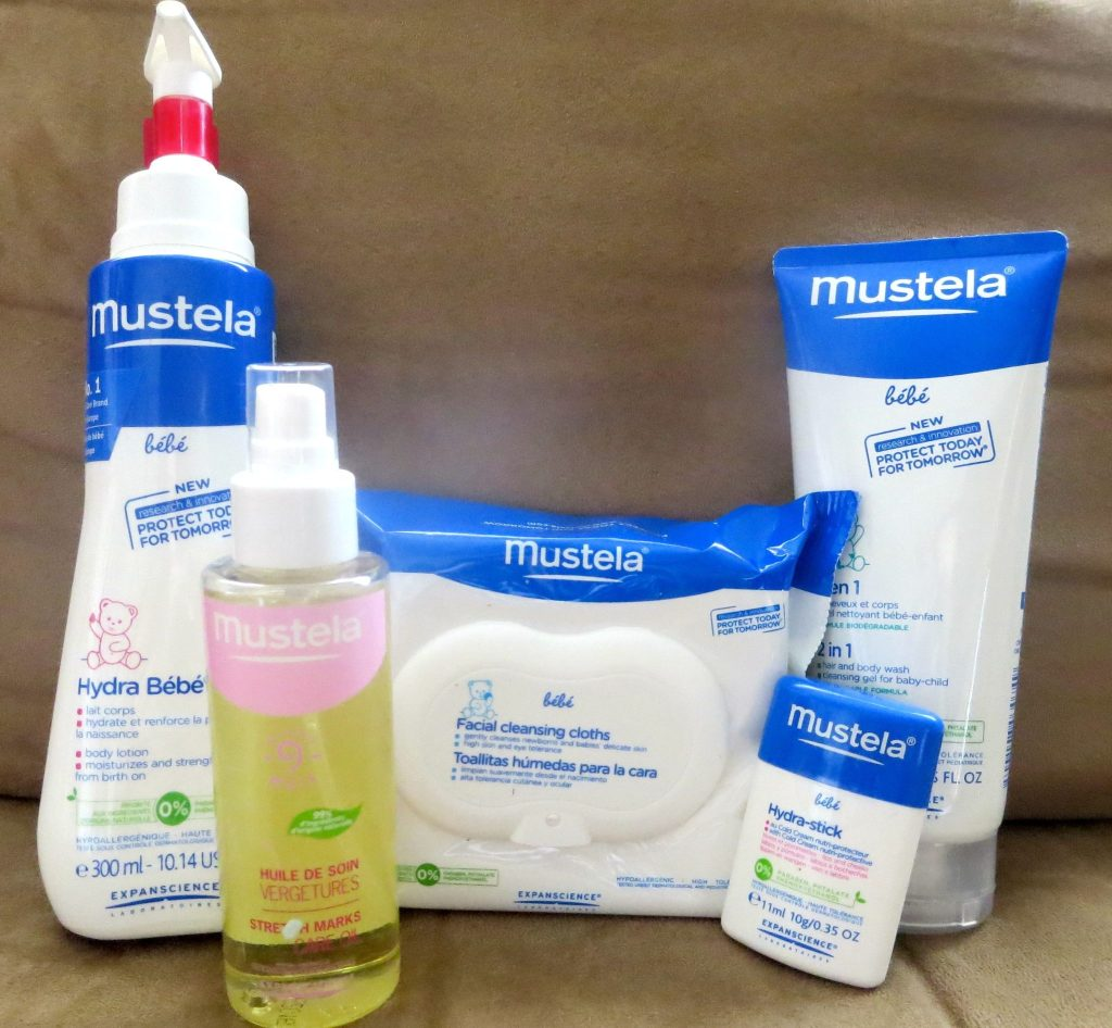 Mustella Skincare Package from Mom Central to Review