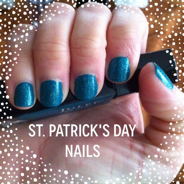 Julep and Butter London St. Patrick's Day Inspired Nails