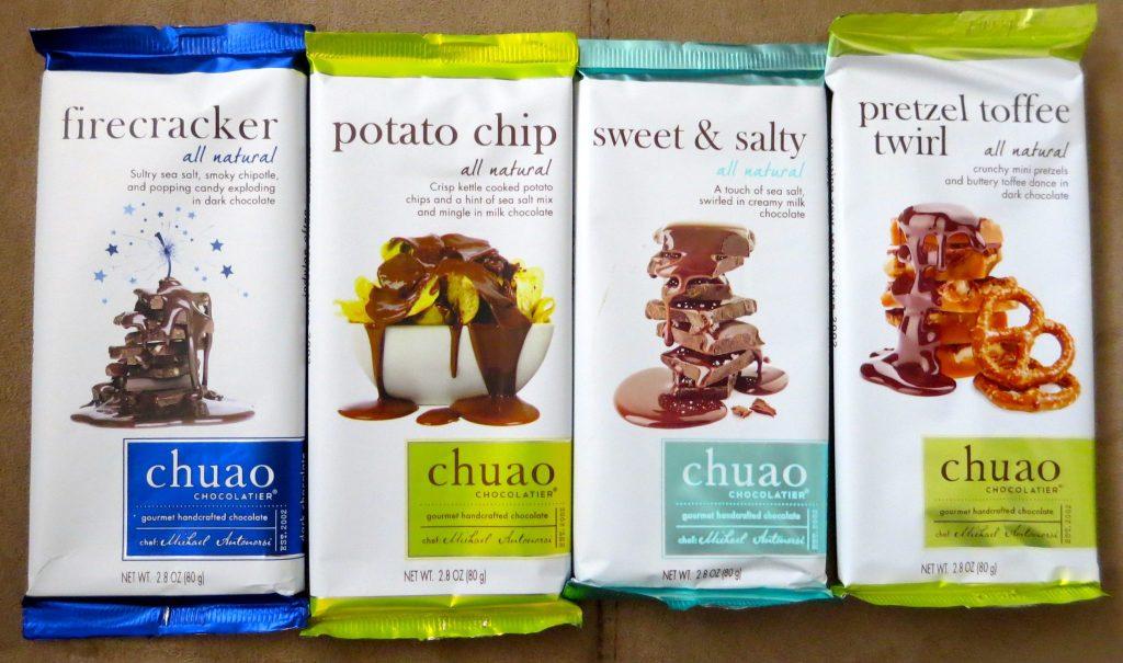 Chuao Chocolate Samples