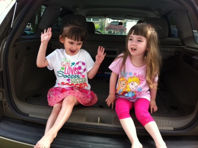 Having Fun in Dad's Car