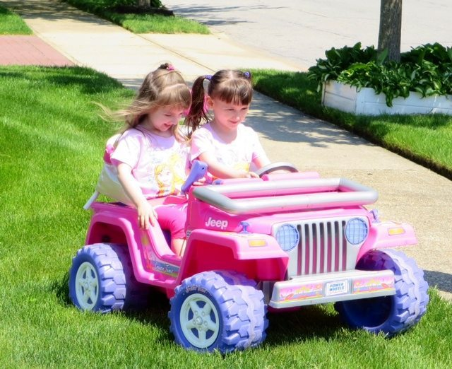 Barbie Jeep Fun!