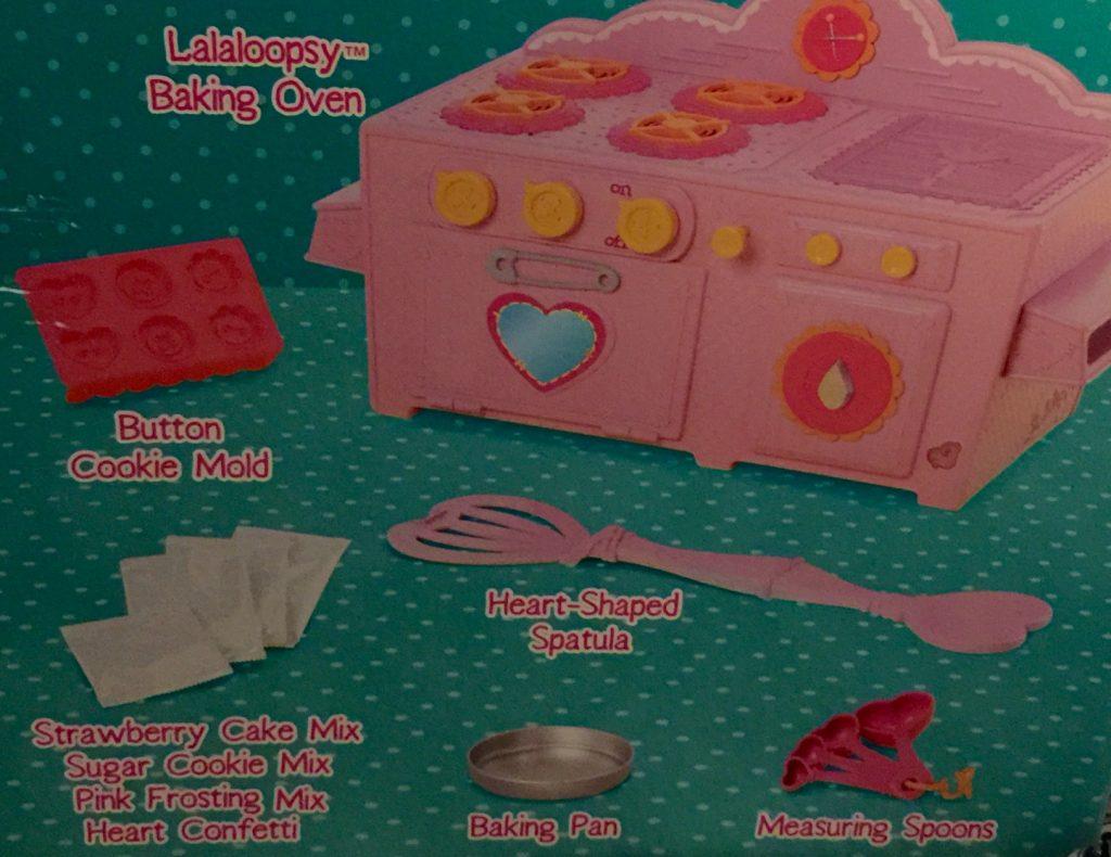 Lalaloopsy Baking Oven Contents