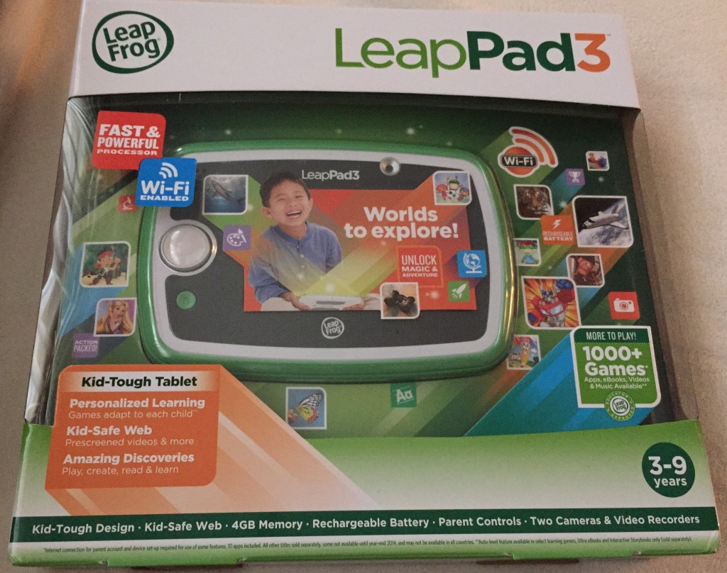 LeapPad 3 Game System