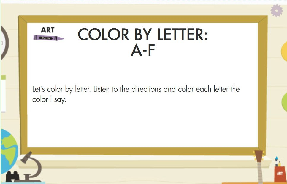 Color Letters - Letter and Color Recognition