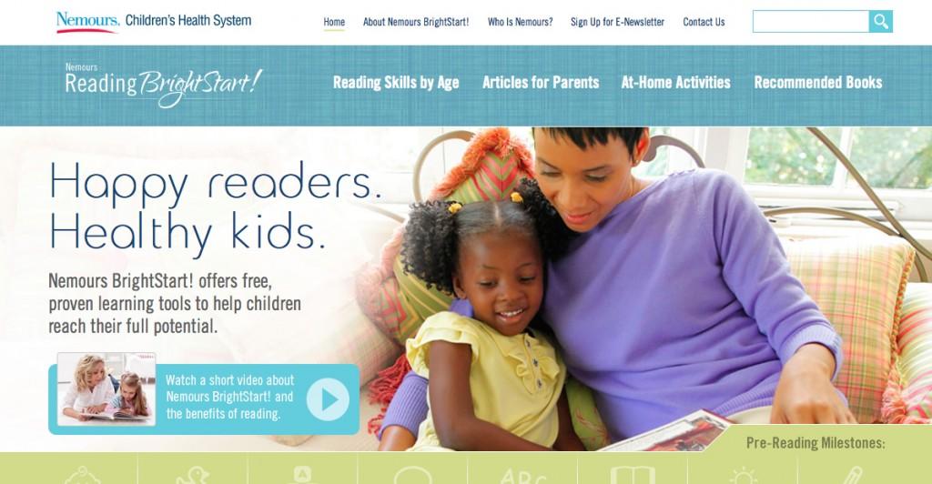 Nemour's BrightStart! Homepage