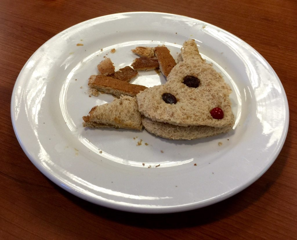 Allergy Friendly Reindeer Sandwich