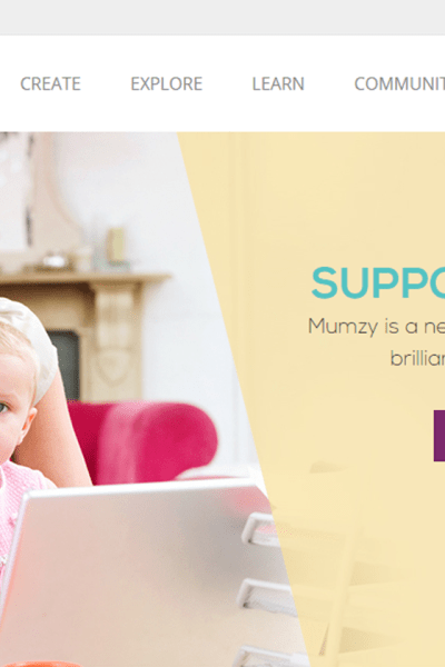 MUMZY Supporting Mom Entrepreneur