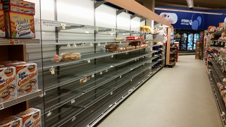 Bread Aisle Right Before Juno