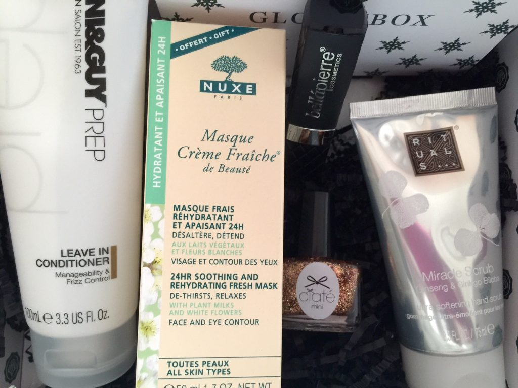December Glossybox Contents