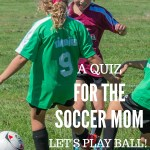 Let's Play Ball! A Quiz for the Soccer Mom