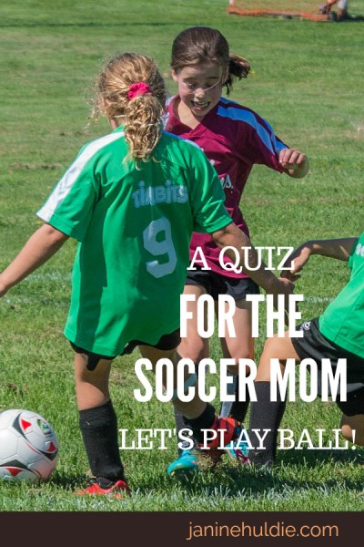 A Quiz for the Soccer Mom