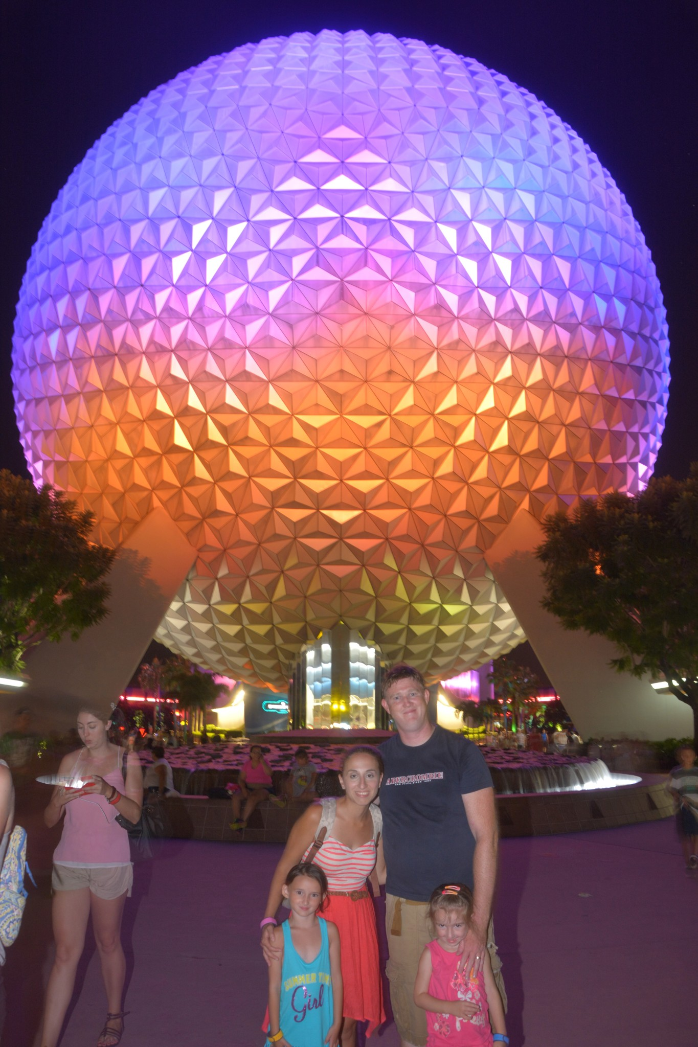 After the rain cleared late at Epcot