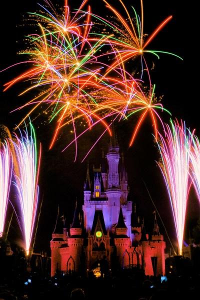 Walt Disney World Photo of Magic Kingdom Fireworks