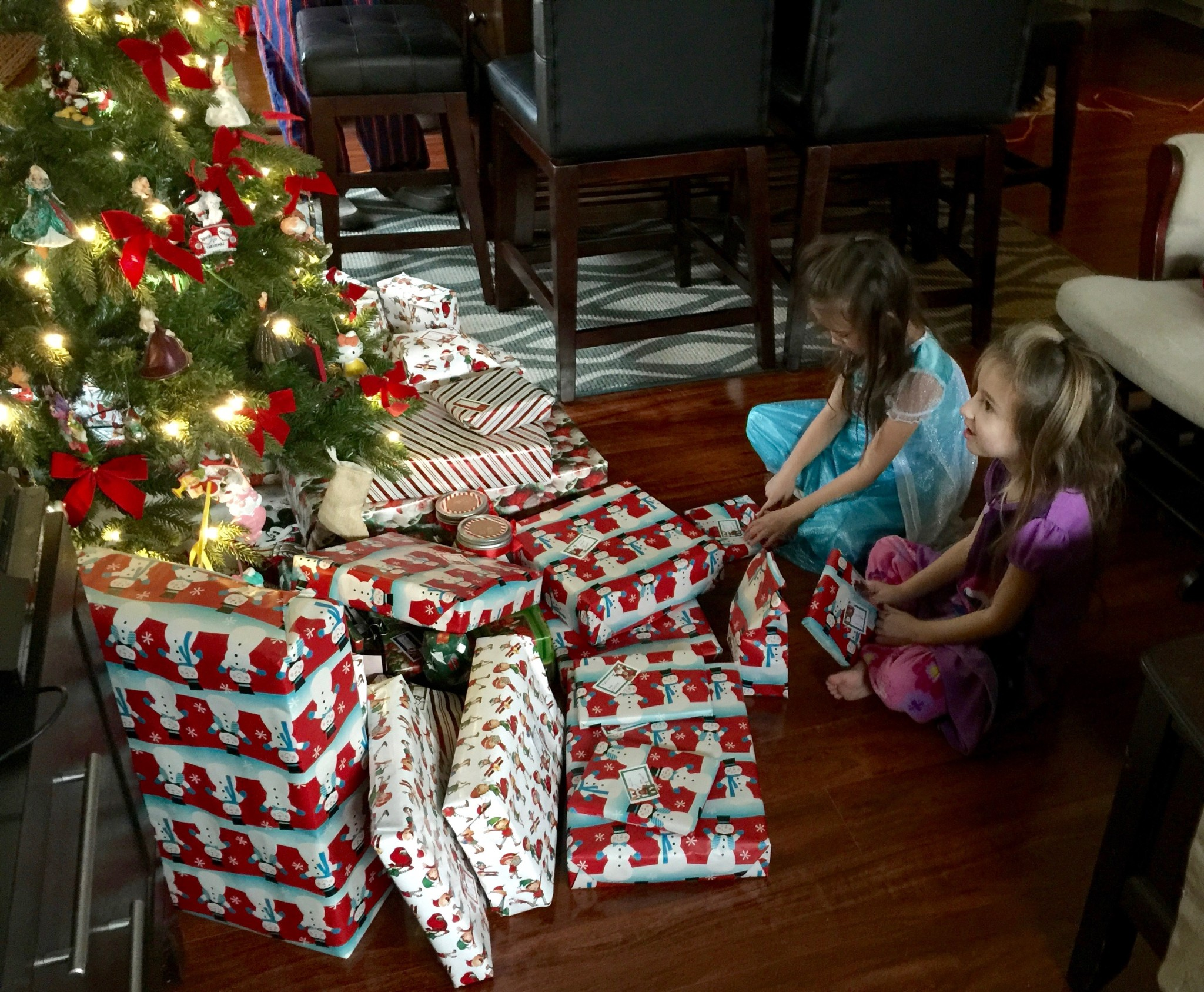 Christmas Morning 2015