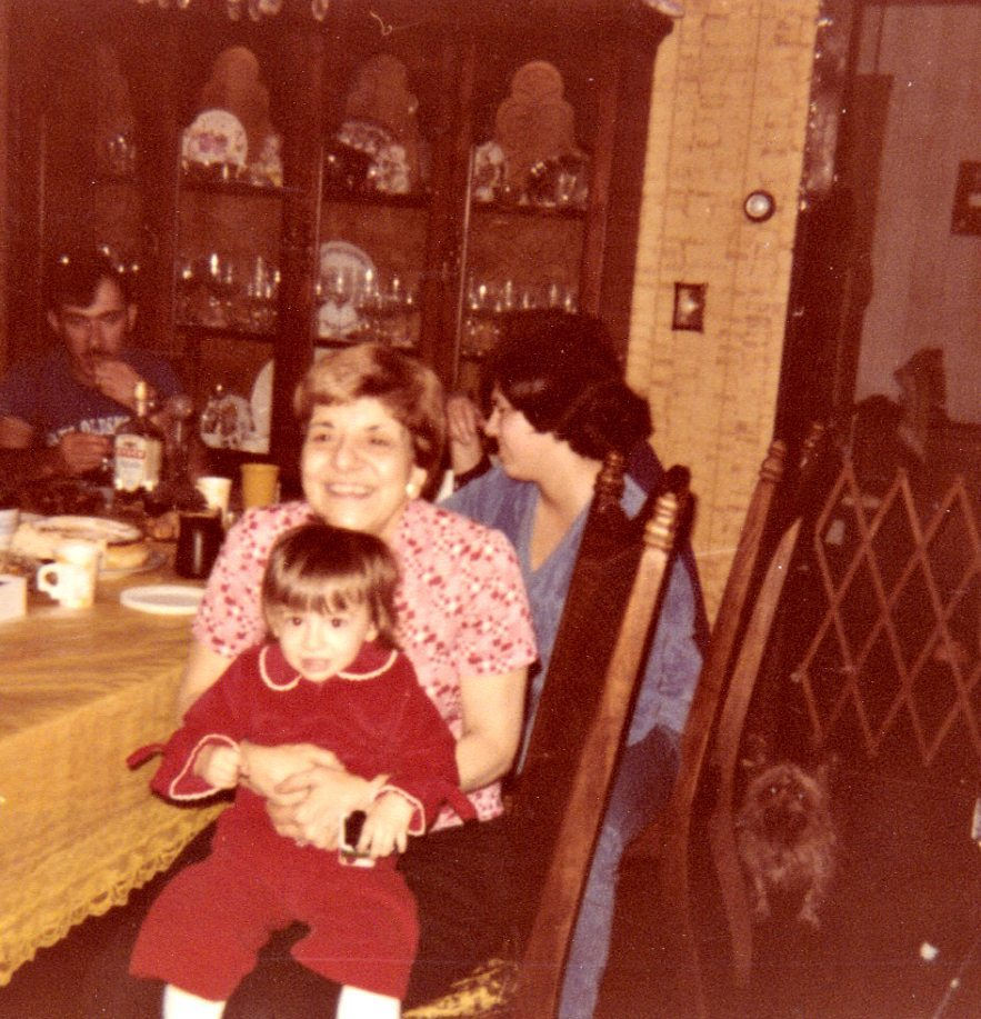 Me and Nana back in the 1970s