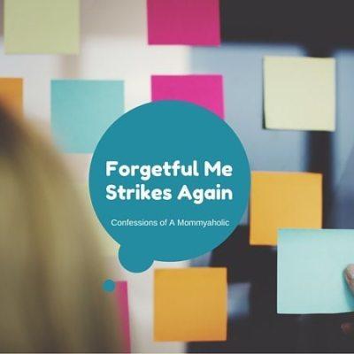Forgetful Me Strikes Again