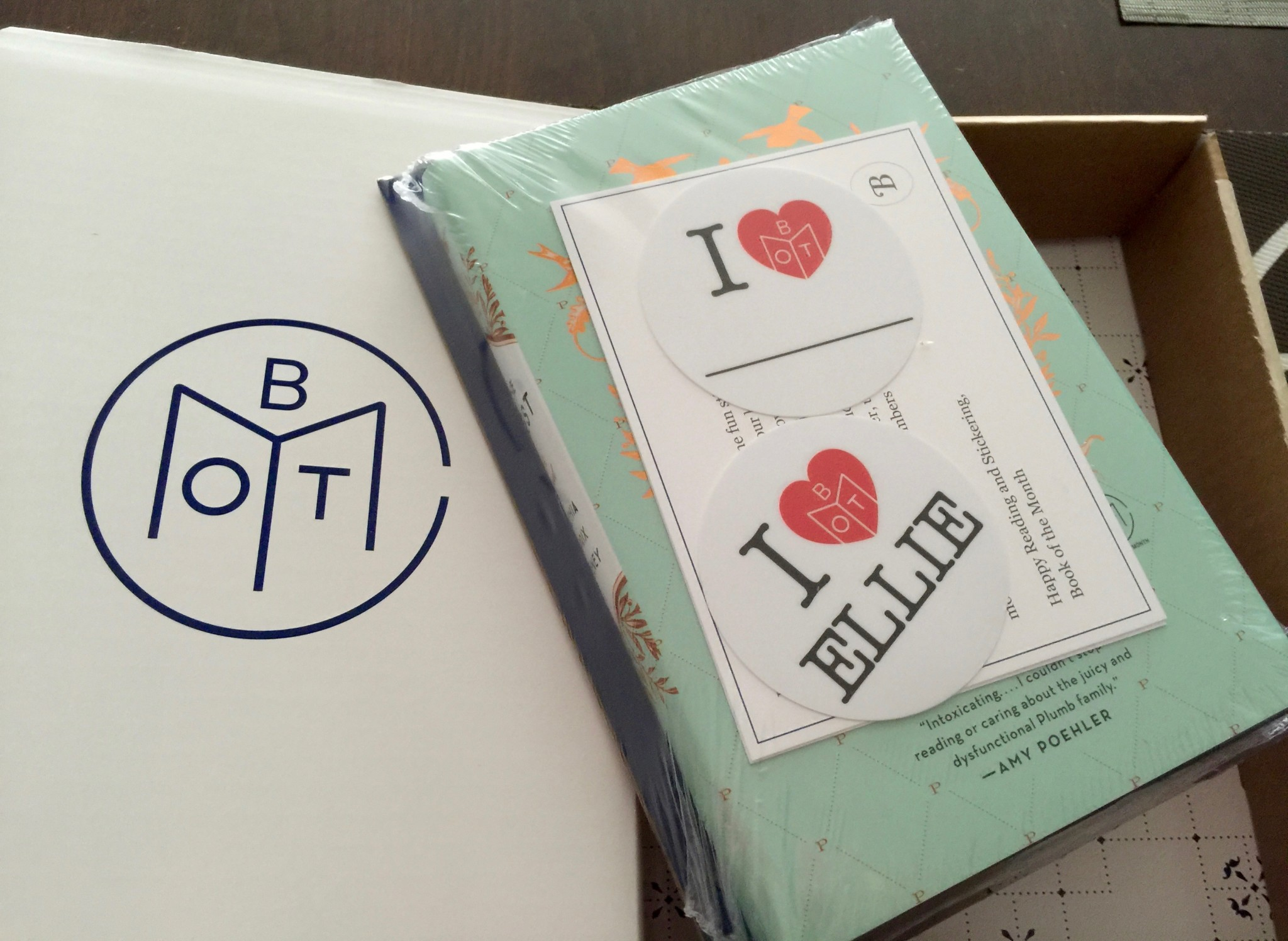 April's Book of the Month with The Nest