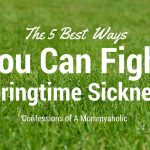 The 5 Best Ways You Can Fight Springtime Sickness
