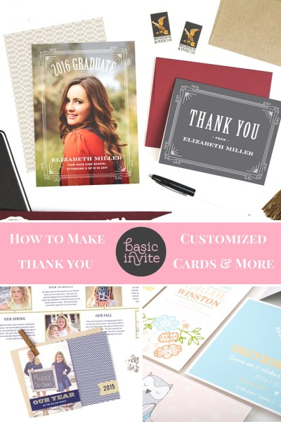 Making Customized Thank You Cards and More
