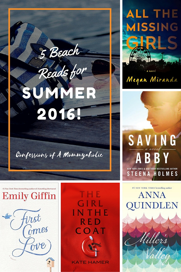Summer Reads with Book Covers