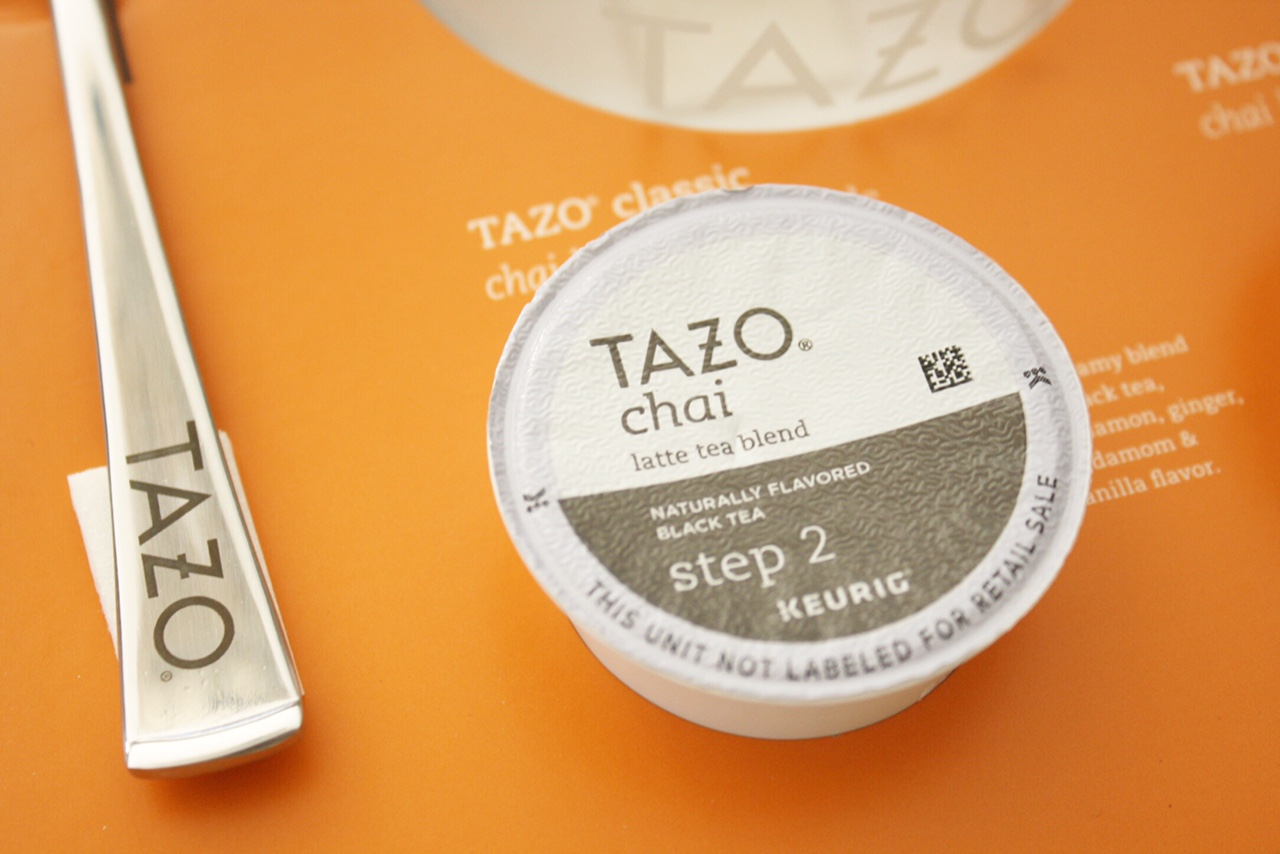 Tazo K-Cup & Spoon