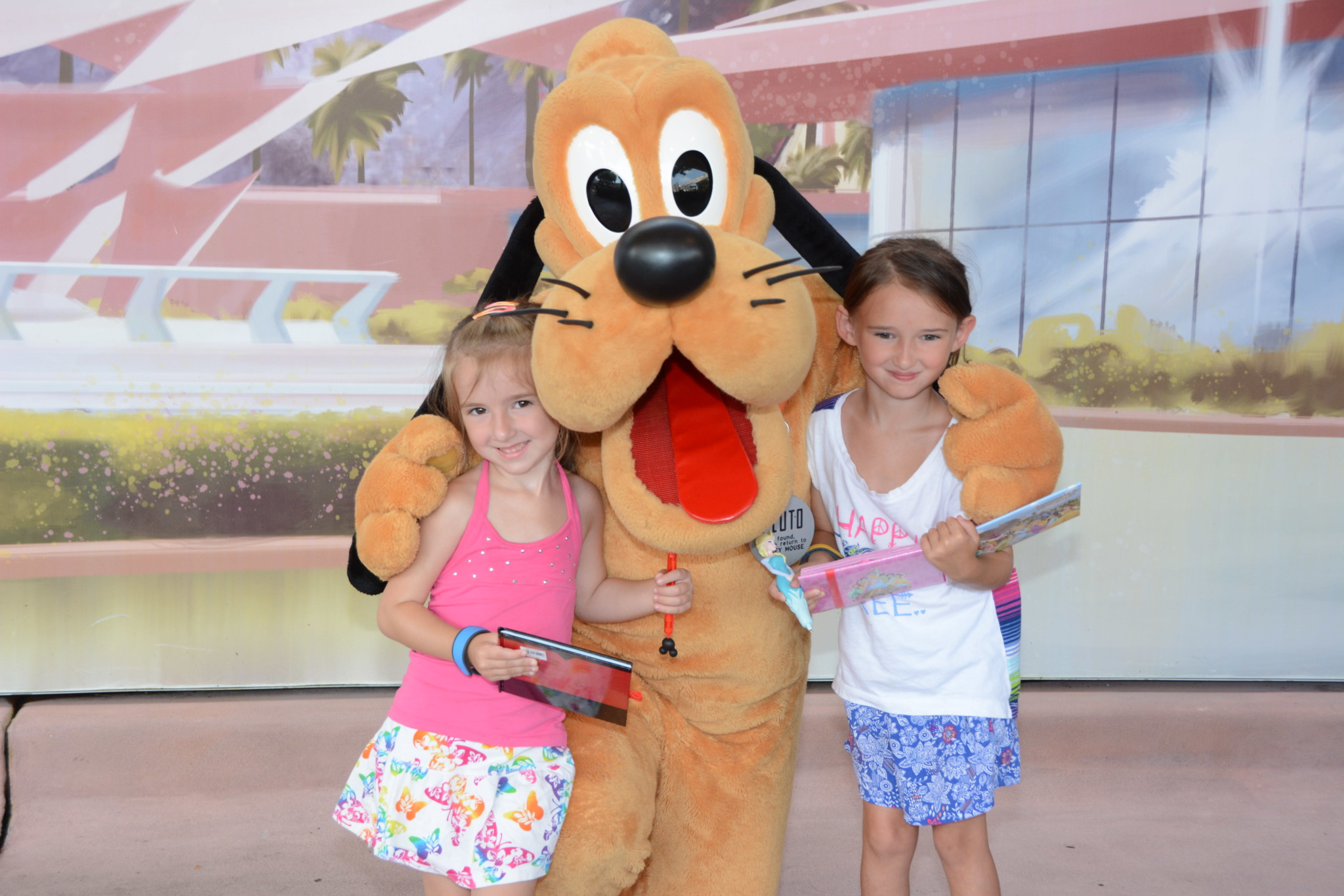 The Girls with Pluto
