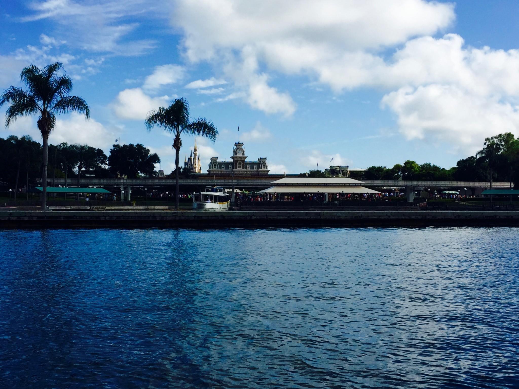 Boat Ride to Magic Kingdom