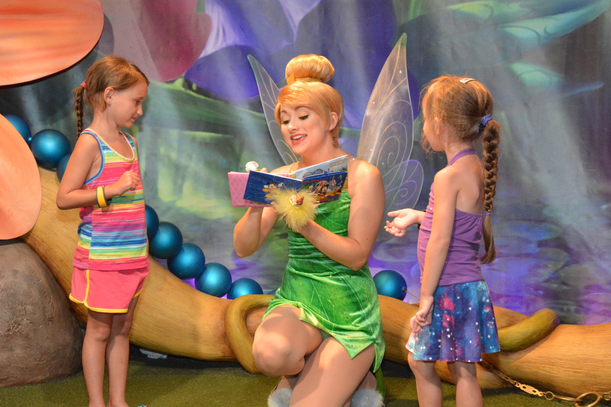 Tinkerbell and the girls