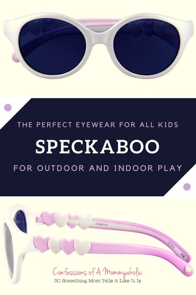 Speckaboo - the perfect eyewear for all kids for outdoor and indoor play