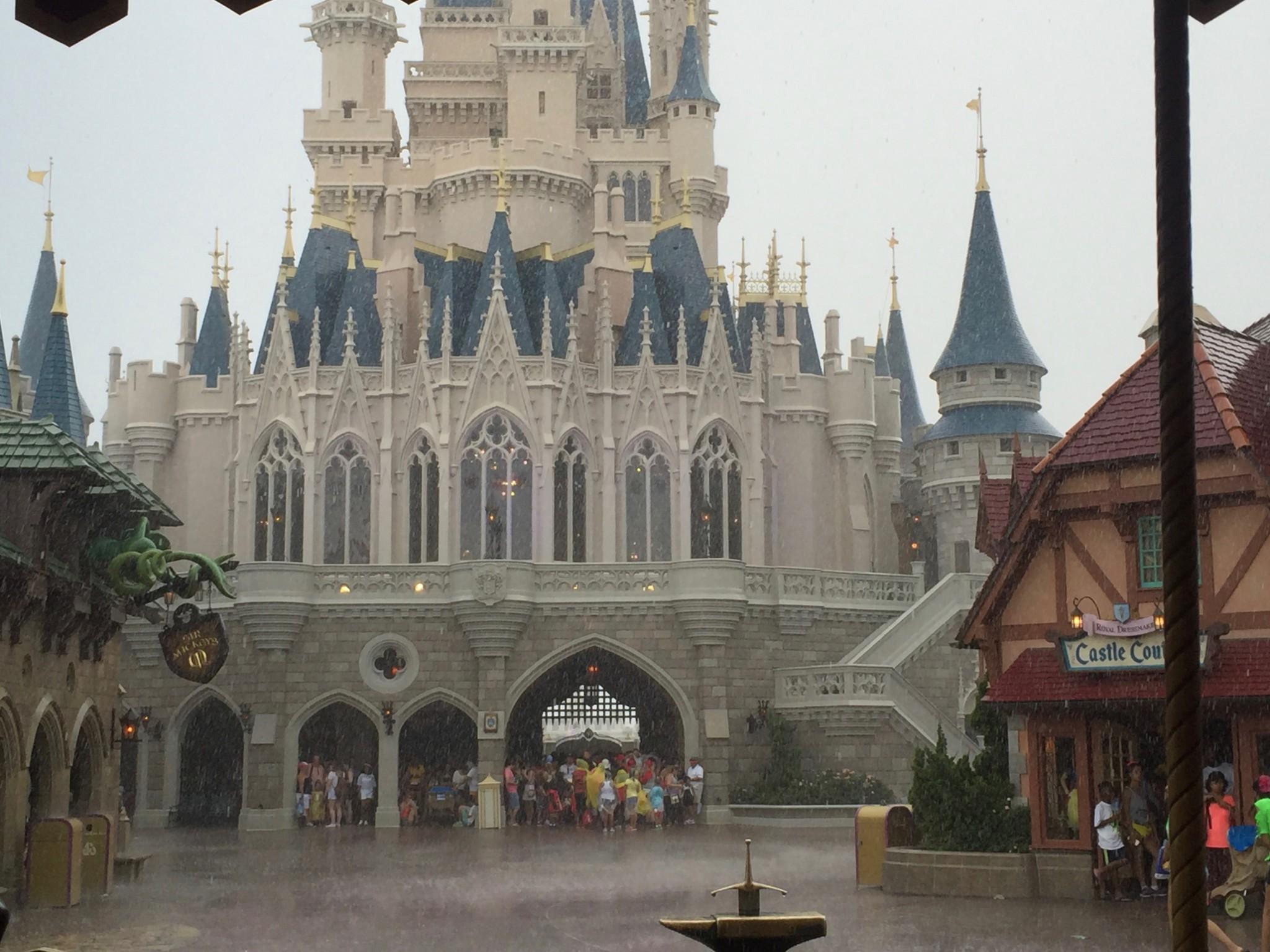 Magic Kingdom and Disney Rain