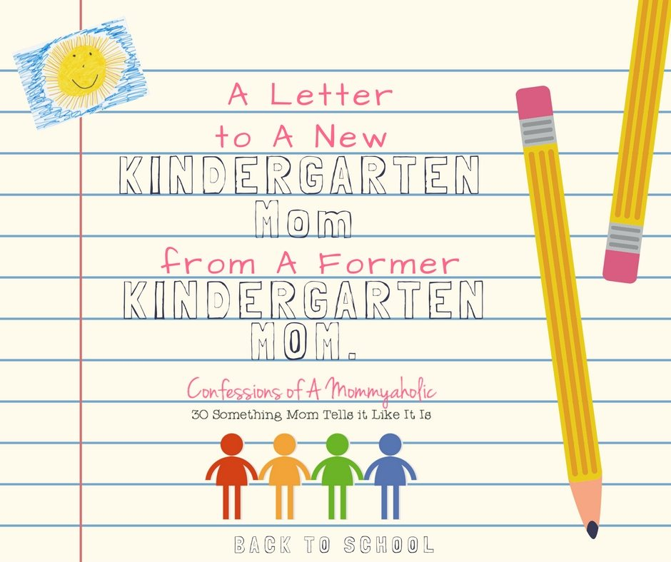 kindergarten mom, This Mom's Confessions