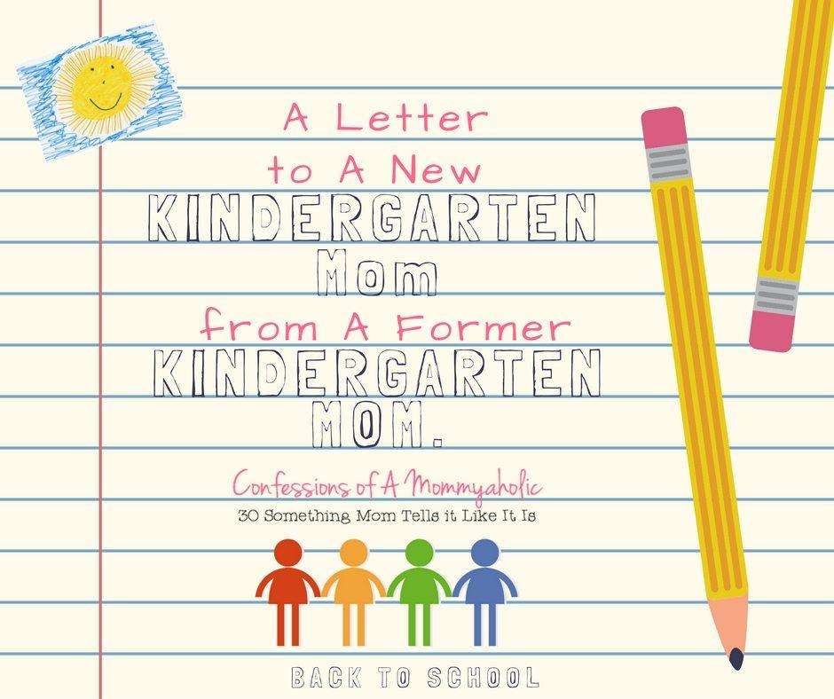kindergarten mom letter