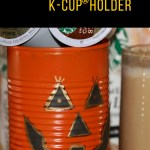 DIY Jack O' Lantern Cans K-Cup® Holder