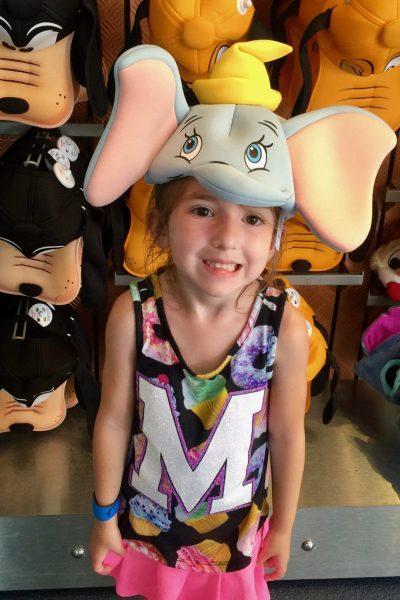 Modeling Dumbo Ears at Disney World