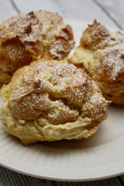 Vanilla Chai Cream Puffs
