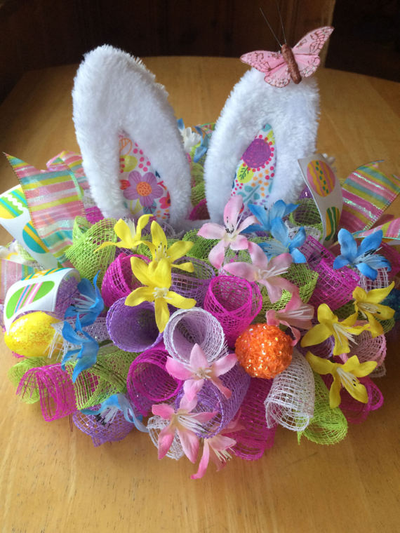 Easter Bunny Ears Centerpiece