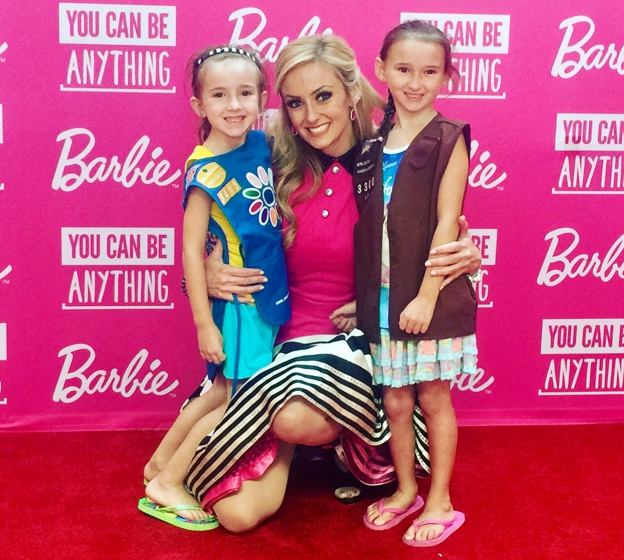 Girls Scout Barbie Event