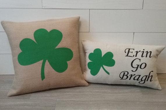 St Patricks Day Pillow