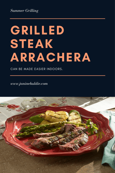 Grilled Steak Arrachera Recipe