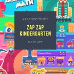 4 Reasons to Use Zap Zap Kindergarten Math App