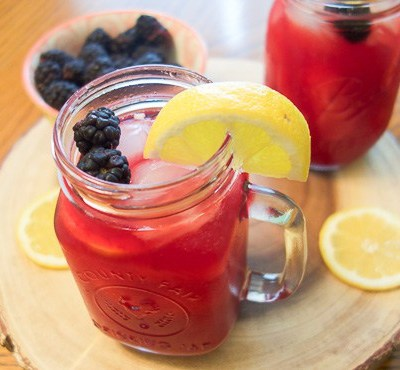 Homemade Blackberry Lemonade Recipe