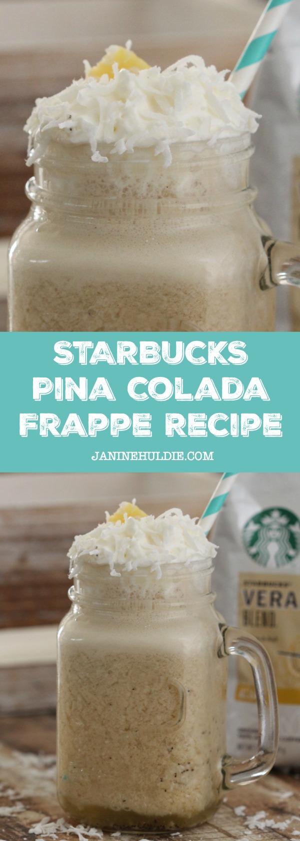 Starbucks Pina Colada Recipe