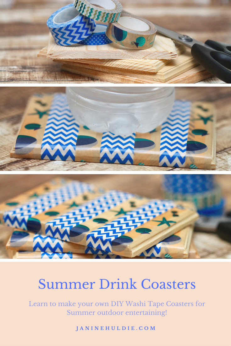Summer Drink Coasters, This Mom's Confessions