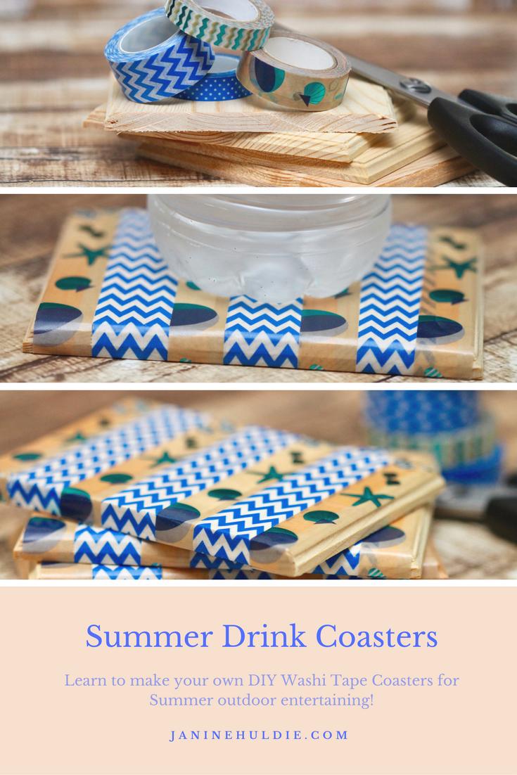 Summer Drink Coasters